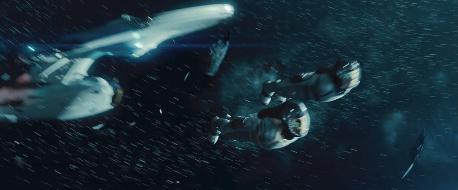 Star Trek Into Darkness international trailer space dive