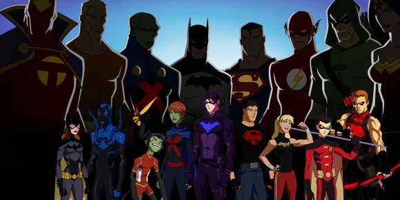 young-justice-team-and-mentors-superman-batman