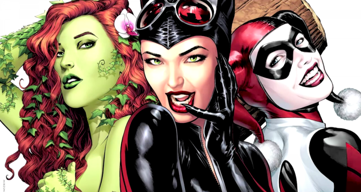poison-ivy-catwoman-and-harley-quinn