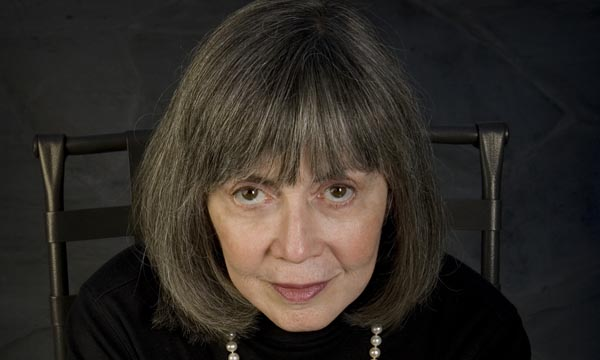 Anne Rice portrait shoot
