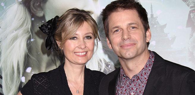 Zack Snyder and wife Deborah
